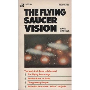 Michell, John: The flying saucer vision (Pb)