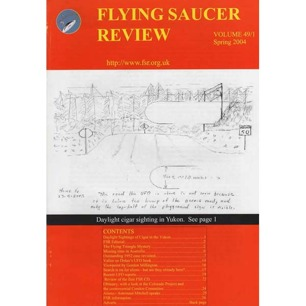Flying Saucer Review (2004-2005) - Vol 49 n 1 - Spring 2004