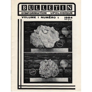 Bulletin d'Information Ufologique (1984-1985) - Vol 1 n 1 - Sept 1984