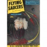 Flying Saucers (1957-1961) - 25 - August 1957 - worn, but complete