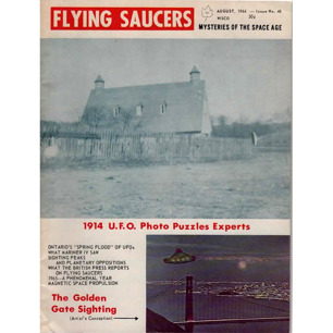Flying Saucers (1966-1968) - 48 - August 1966