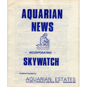 Aquarian News incorp. Skywatch (1975-1976)