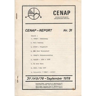 CENAP-Report (1978-1980) - 31 - Sept 1978