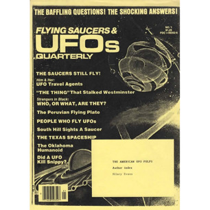 Evans, Hilary: The American UFO pulps.  Author index