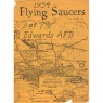 Crabb, Riley H. (ed.): Flying saucers at Edwards AFB, 1954 - Very good (also includes 4 pages from Bill Moore's Focus)