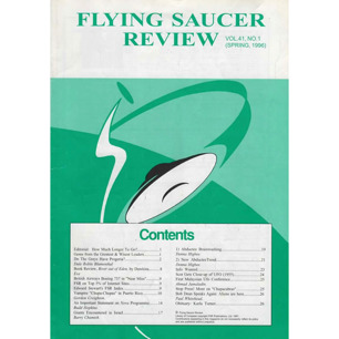 Flying Saucer Review (1996-1997) - Vol 41 n 1 - Spring 1996