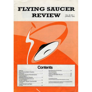 Flying Saucer Review (1994-1995)