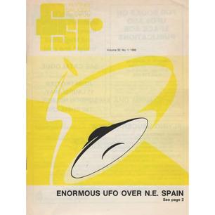 Flying Saucer Review (1986-1987) - Vol 32 n 1, Dec 1986