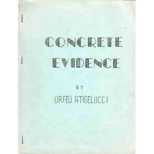 Angelucci, Orfeo M.: Concrete evidence