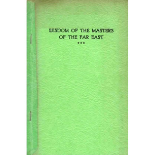 Adamski, George: Wisdom of the masters of the Far East. Questions and answers by the Royal Order of Tibet