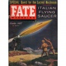 Fate Magazine US (1957-1958) - 91 - vol 10 n 10 - Oct 1957 (worn spine)