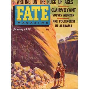 Fate Magazine US (1959-1960) - 106 - v 12 n 1 . Jan 1959