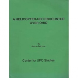 Zeidman, Jennie: A helicopter-UFO encounter over Ohio