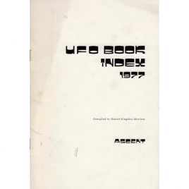 Morison, Robert Kingsley: UFO book index 1977