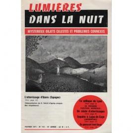 Lumieres dans la nuit (1971-1973)