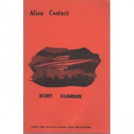 Glemser, Kurt: Alien contact