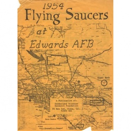 Crabb, Riley H. (ed.): Flying saucers at Edwards AFB, 1954
