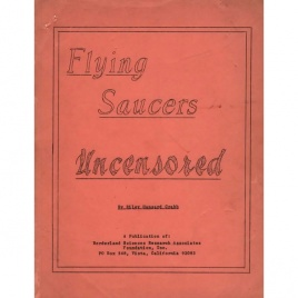 Crabb, Riley H.: Flying saucers uncensored