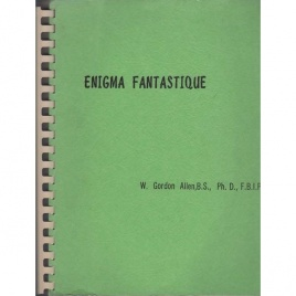 Allen, W. Gordon: Enigma fantastique