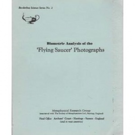 Metaphysical Research Group: Biometric analysis of the 'flying saucer' photographs
