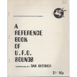 Butcher, Dan: A reference book on U.F.O. sounds
