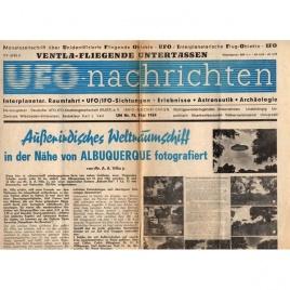 UFO-Nachrichten (1964-1966)