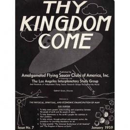 AFSCA: Thy Kingdom Come, AFSCA World Report, UFO International, Flying Saucers International