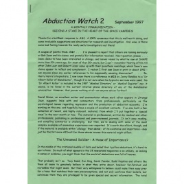 Abduction Watch (1997-2000)