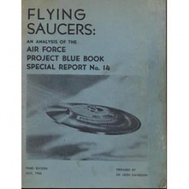 Davidson, Leon (editor): Flying Saucers: an analysis of the Air Force Project Blue Book Special Report No. 14. 4th ed.
