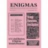 Enigmas (1989-1999) - 37 - Aug-Sept 1994