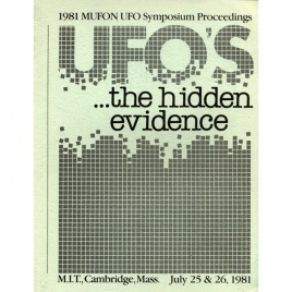 Mutual UFO Network (MUFON): 1981 international UFO symposium proceedings