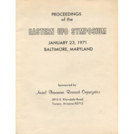 Lorenzen, Coral (ed.): Proceedings of the Eastern symposium, January 23, 1971, Baltimore, Maryland