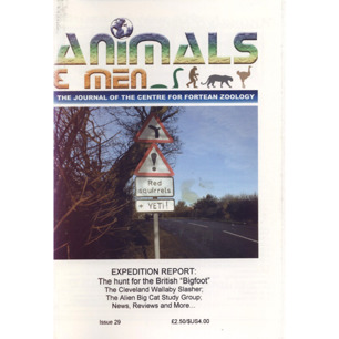 Animals & Men 2003-2006 - No 29, 2003, 59 pages
