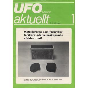UFO Sverige aktuellt 1980-1984 - No 1, 1980, Årgång 1