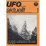 UFO Sverige aktuellt 1980-1984 - No 1, 1981, Årgång 2