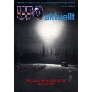 UFO aktuellt 1985-1989 - No 1, 1985, Årgång 6