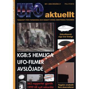 UFO aktuellt 2000-2004 - No 1, 2000, Årgång 21