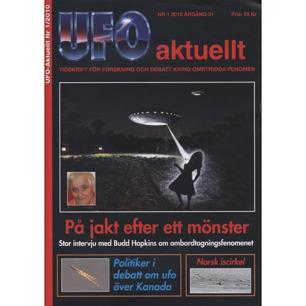 UFO aktuellt 2010-2014 - No 1, 2010, Årgång 31; UFO Norge Årgång 29