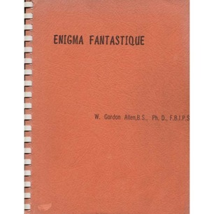 Allen, W. Gordon: Enigma fantastique - Good (red cover)