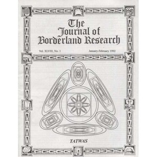 Free magazine if you buy some other item from the AFU Shop! The Journal of Borderland Research - Vol XLVIII, No 1, Jan-Feb 1992