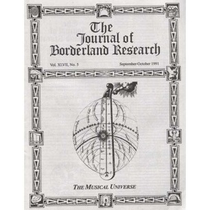 Free magazine if you buy some other item from the AFU Shop! The Journal of Borderland Research - Vol XLVII, No 5, Sep-Oct 1991