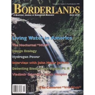 Free magazine if you buy some other item from the AFU Shop! Borderlands - Vol LII, No 4, Fourth q. 1996