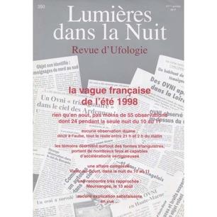 Lumieres dans la nuit (1998-2000) - 350 - (vol 41, dec 1998)