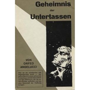 Angelucci, Orfeo M.: Geheimnis der Untertassen