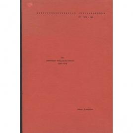 Blomqvist, Håkan: UFO. Annoterad urvalsbibliografi 1950-1978. Specialarbete ht 1978:140