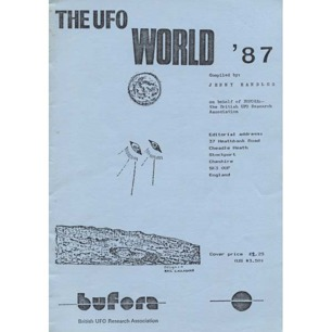 BUFORA: Randles, Jenny (compiled by): The UFO world ´87