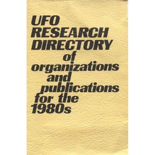 Duplantier, Gene (ed.): UFO research directory of organizations and publications for the 1980s