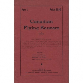 Michael: Canadian flying saucers. Part 1.