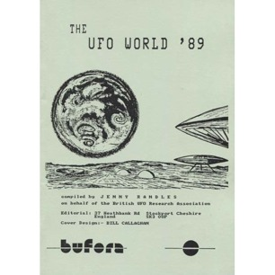 BUFORA: Randles, Jenny (compiled by): The UFO world ´89