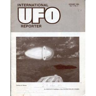 International UFO Reporter (IUR) (1982-1984) - V 7 n 1 - Jan 1982